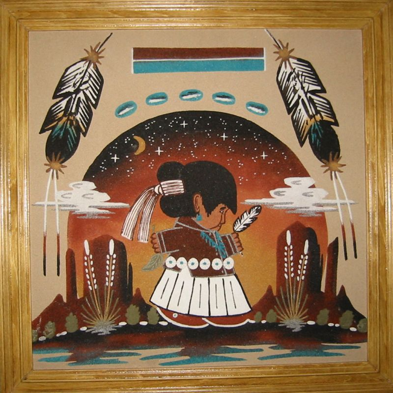 Original Watercolor Paintings by Navajo Artists